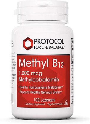 Protocol For Life Balance Methyl B12 - 100 Lozenges