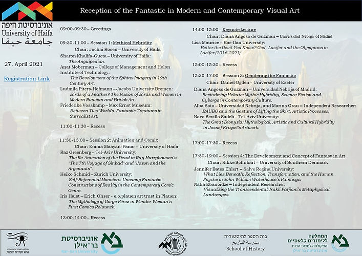Reception of the Fantastic in Modern and Contemporary Visual Art