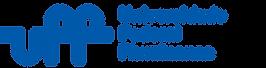 Logo da Universidade Federal Fluminense UFF. Letras azuis sobre fundo branco.