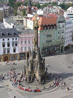 Coluna da Peste de Olomouc