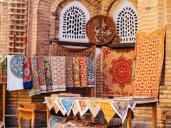 Day 5 Uzbek silk rugs ST