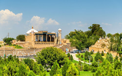 usbekistan--samarkand--hazrat-khizr-moschee