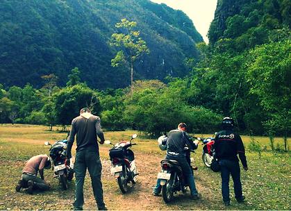 Motorbiking in Asia