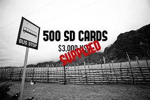 Help Fund SD Cards