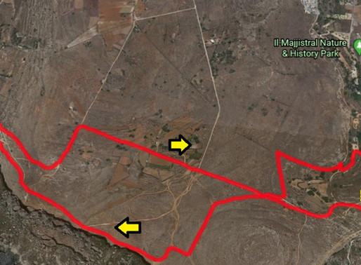 ROUTES FOR NPS 3 - MAJJISTRAL PARK