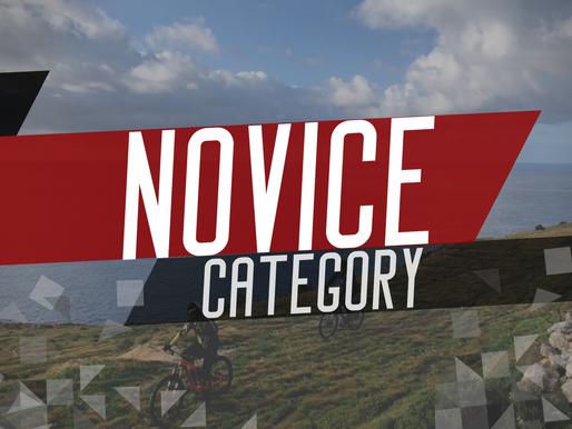 NEW NOVICE CATEGORY!