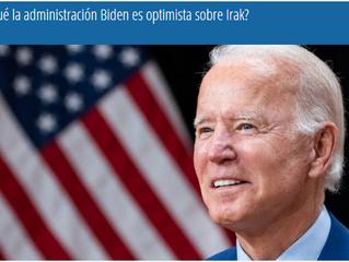 ¿Por qué la administración Biden es optimista sobre Irak?