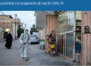 Japón da prioridad a la recuperación de Iraq de COVID-19