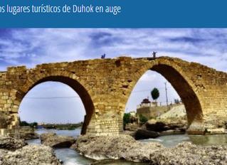 Los lugares turísticos de Duhok en auge