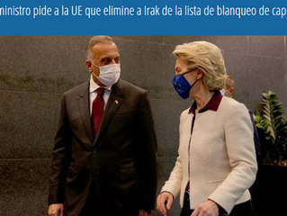 Primer ministro pide a la UE que elimine a Irak de la lista de blanqueo de capitales