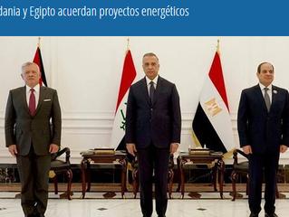 Irak, Jordania y Egipto acuerdan proyectos energéticos
