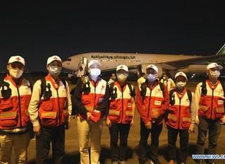 Expertos chinos llegan a Irak para ayudar a combatir brote coronavirus