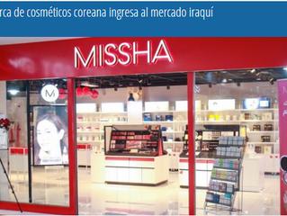 La marca de cosméticos coreana ingresa al mercado iraquí