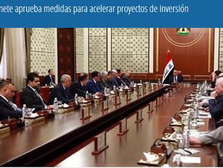 Gabinete aprueba medidas para acelerar proyectos de inversión