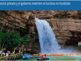El sector privado y el gobierno invierten en turismo en Kurdistán