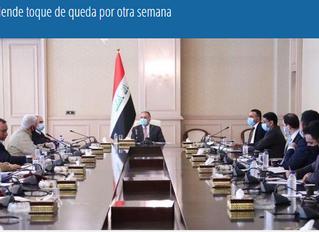 Irak extiende toque de queda por otra semana ( por COVID-19)