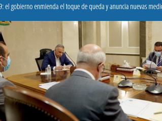 Covid-19: el gobierno enmienda el toque de queda y anuncia nuevas medidas