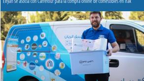Elryan se asocia con Carrefour para la compra online de comestibles en Irak