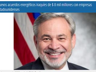 Nuevos acuerdos energéticos iraquíes de $ 8 mil millones con empresas estadounidensesLos siguiente