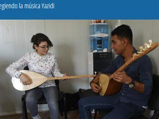 Protegiendo la música Yazidi