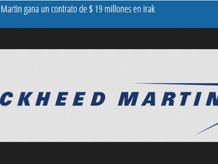 Lockheed Martin gana un contrato de $ 19 millones en Irak