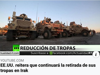 VIDEO: EE.UU. reitera que continuará la retirada de sus tropas en Irak