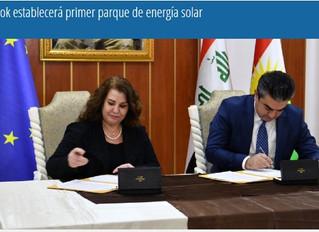 Duhok establecerá primer parque de energía solar