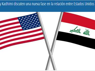 Trump y primer ministro de Irak Kadhimi discuten una nueva fase en la relación entre Estados Unidos