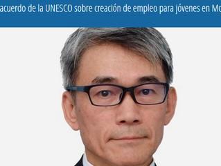 Japón, acuerdo de la UNESCO sobre creación de empleo para jóvenes en Mosul