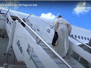 Vídeo:    ASÍ SERÁ EL VIAJE DEL PAPA A IRAKDel viernes al domingo próximo, Francisco hará su prime