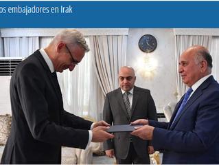 Nuevos embajadores en Irak