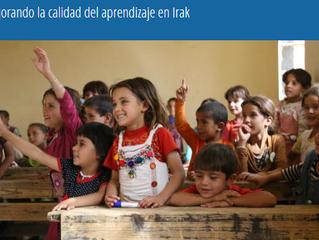 Mejorando la calidad del aprendizaje en Irak