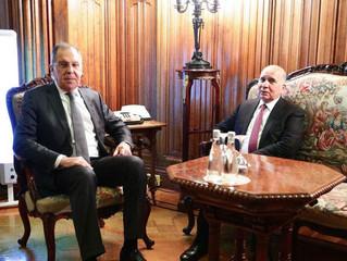 Cancilleres de Iraq y Rusia discuten relaciones mutuas y principales asuntos regionales