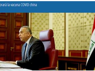Irak comprará la vacuna COVID china.