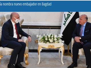 Turquía nombra nuevo embajador en Bagdad