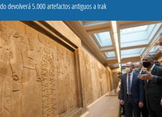 Reino Unido devolverá 5.000 artefactos antiguos a Irak