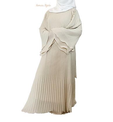 Robe plissée Assia