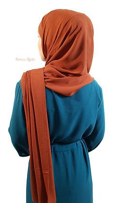 Maxi Hijab Mousseline de soie opaque