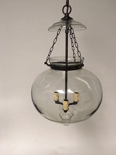 3 Light Glass Pendant Fixture