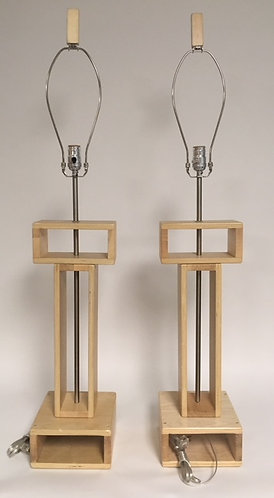 Hand Crafted Wooden Lamps