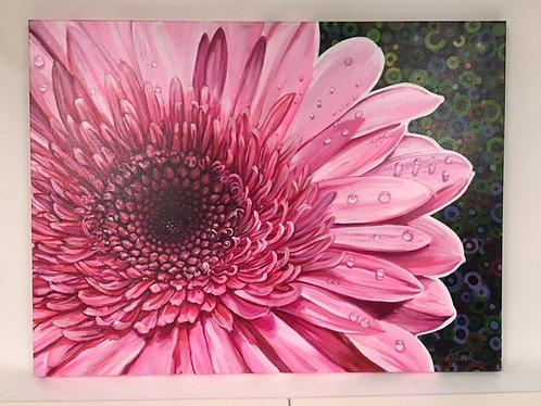 Katie Turk Acrylic Sun Dew Flower in Pink