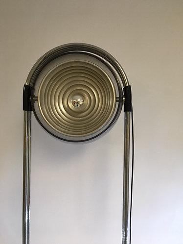 Metalarte made in Spain floor lamp Chrome and Lucite