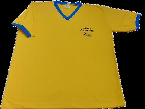 Camiseta Manga Curta Colégio Aquarela