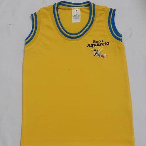 Camiseta Regata Escola Aquarela