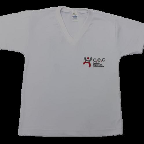 Camiseta Branca Espaço da Comunidade