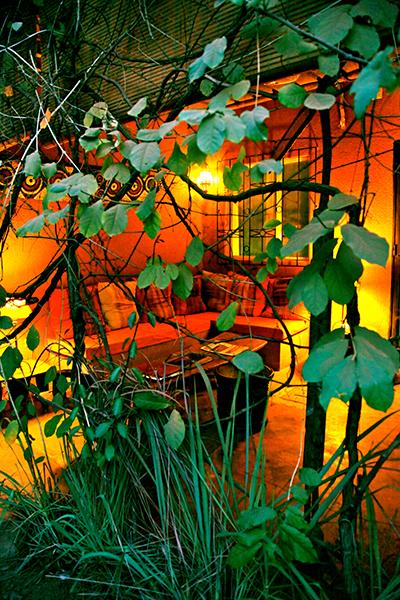 La terrasse orange