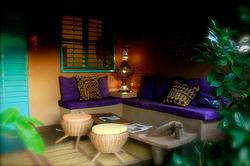 La terrasse violette