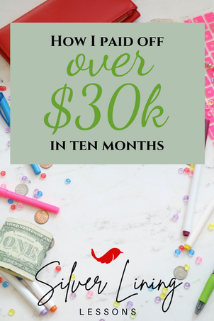 How I Paid Off Over $30k in 10 Months