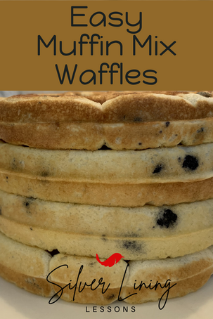 Quick & Easy Muffin Mix Waffles