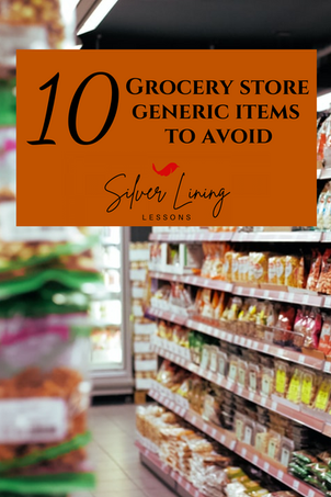 10 Grocery Store Generic Brand Items To Avoid